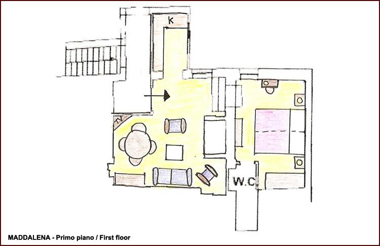 Appartamenti agriturismo chianti appartamenti agriturismo for Arredo casa montaione